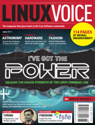 Linux Voice June 2014