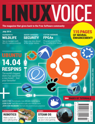 Linux Voice July 2014