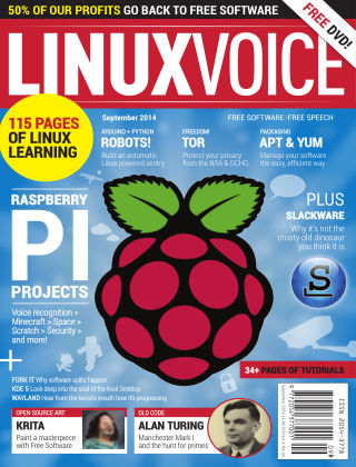 Linux Voice September 2014
