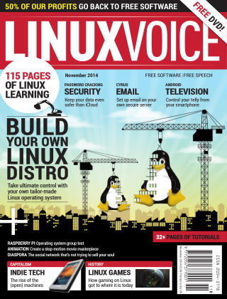 Linux Voice November 2014