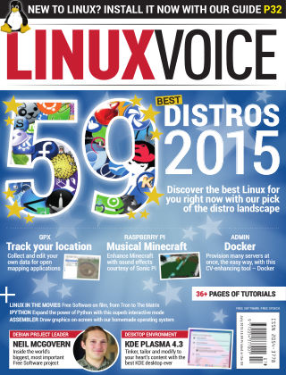 Linux Voice July 2015