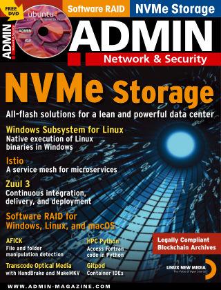 ADMIN Network & Security #54 Nov/Dec 2019