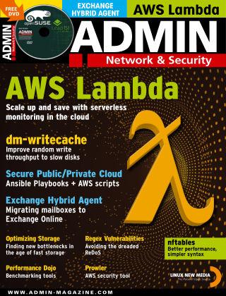 ADMIN Network & Security #55 Jan/Feb 2020