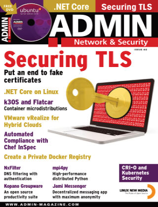 ADMIN Network & Security #60 Nov/Dec 2020