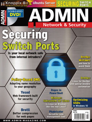 ADMIN Network & Security #42 Nov/Dec 2017