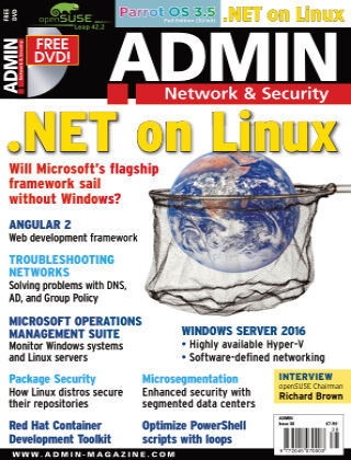 ADMIN Network & Security #38 Mar/Apr 2017