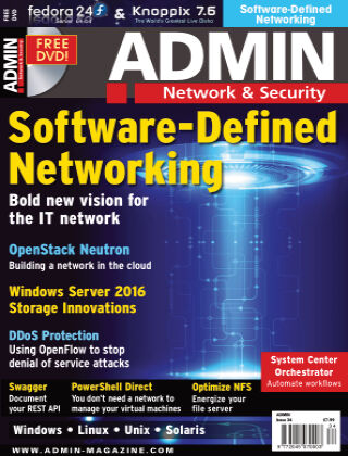 ADMIN Network & Security #34 Jul/Aug 2016