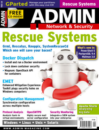 ADMIN Network & Security #29 Sep/Oct 2015