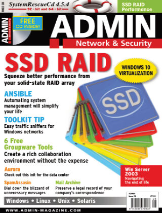 ADMIN Network & Security #28 Jul/Aug 2015