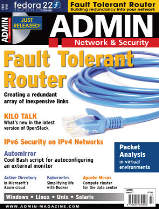 ADMIN Network & Security #27 May/June 2015