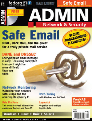 ADMIN Network & Security #25 Jan/Feb 2015