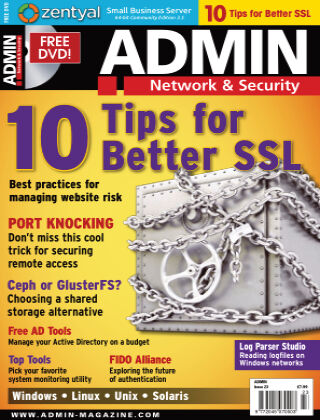 ADMIN Network & Security #23 Sep/Oct 2014