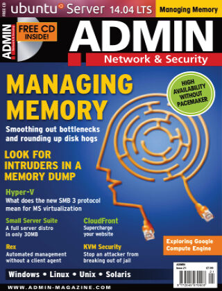 ADMIN Network & Security #21 May/Jun 2014