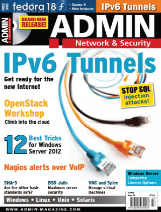 ADMIN Network & Security #13 Jan/Feb 2013