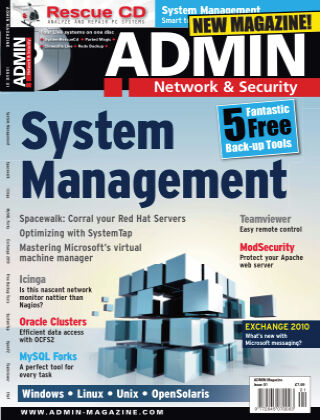 ADMIN Network & Security #1 Spring 2010
