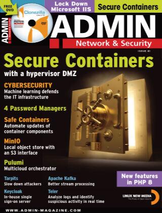 ADMIN Network & Security #61 January/Feb 2021