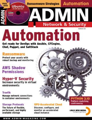 ADMIN Network & Security #63 May/June 2021