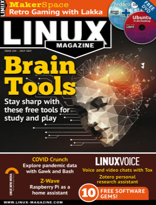 Linux Magazine #248: July 2021