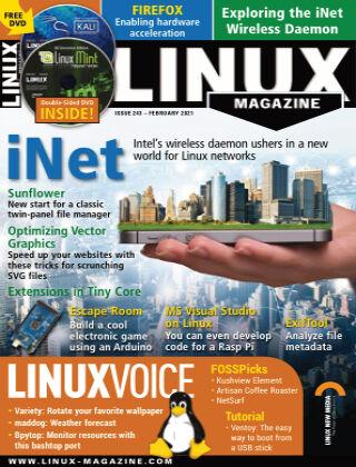 Linux Magazine #243: February 2021