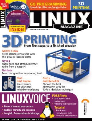 Linux Magazine #242: January 2021