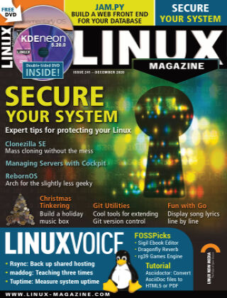 Linux Magazine #241: December 2020