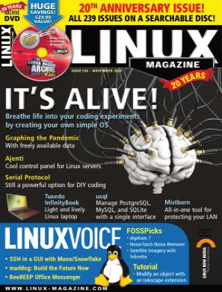 Linux Magazine #240: November 2020