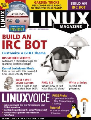 Linux Magazine #239: October 2020