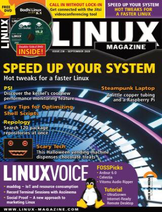 Linux Magazine #238: September 2020