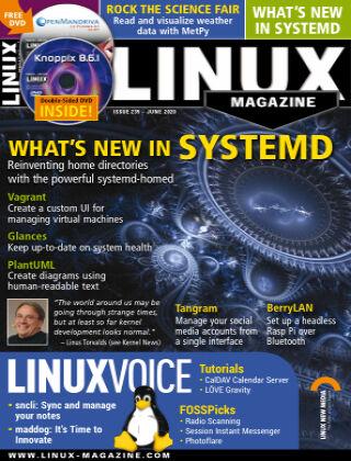 Linux Magazine #235: June 2020