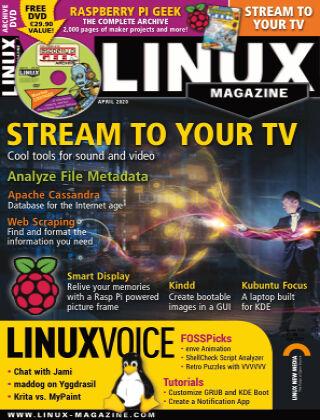 Linux Magazine #233: April 2020