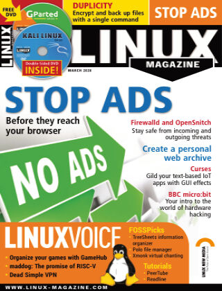 Linux Magazine #232: March 2020