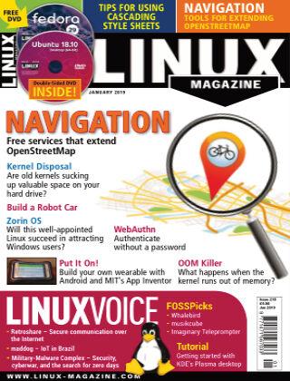 Linux Magazine #218: January 2019