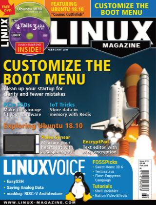 Linux Magazine #219: February 2019