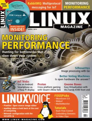Linux Magazine #221: April 2019