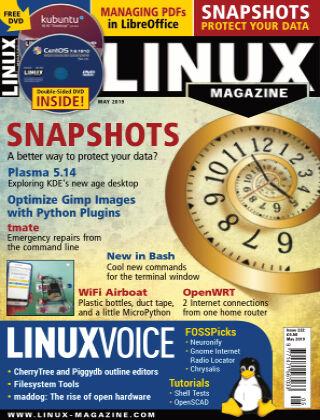 Linux Magazine #222: May 2019