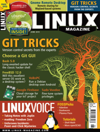 Linux Magazine #223: June 2019