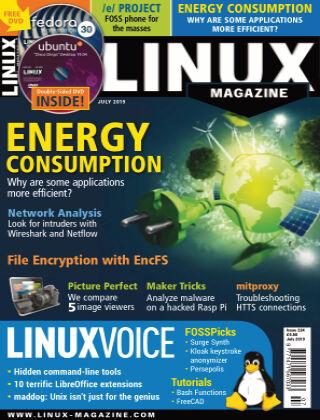 Linux Magazine #224: July 2019
