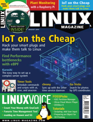 Linux Magazine #225: August 2019