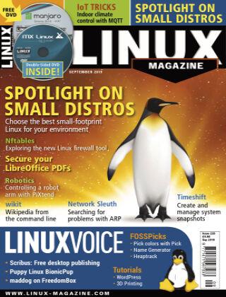 Linux Magazine #226: September 2019