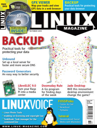 Linux Magazine #227: October 2019