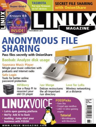 Linux Magazine #228: November 2019