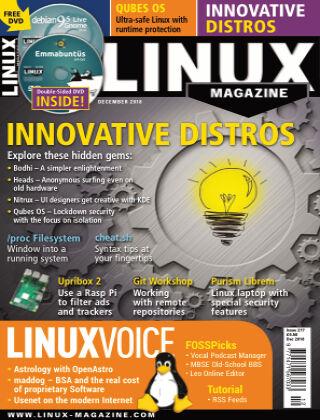 Linux Magazine #217: December 2018