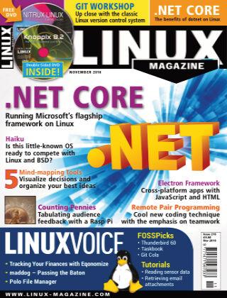 Linux Magazine #216: November 2018