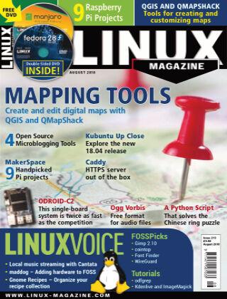 Linux Magazine #213: August 2018