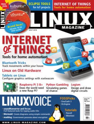 Linux Magazine #212: July 2018