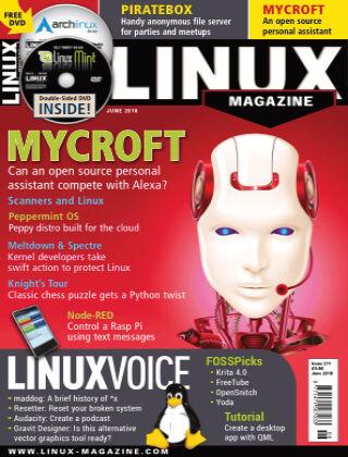 Linux Magazine #211: June 2018