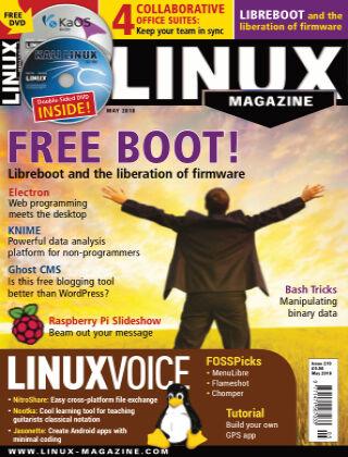 Linux Magazine #210: May 2018