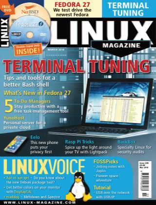 Linux Magazine #208: March 2018