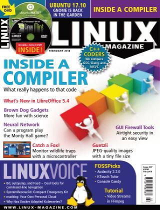 Linux Magazine #207: February 2018