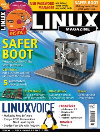 Linux Magazine #206: January 2018